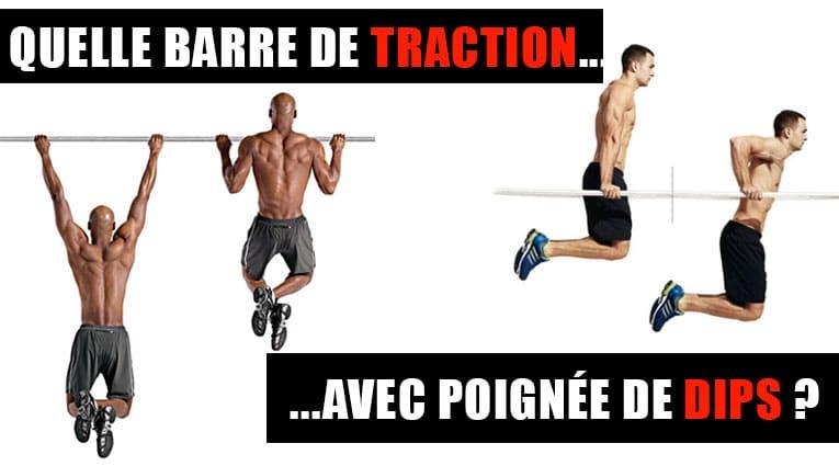 BARRE DE TRACTION DIPS PAS CHER